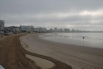 Une superbe plage très accessible pour les personnes ayant la chance d