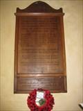 Image for Combined War Memorial - St Christopher's Church, Winfrith Newburgh, Dorset, UK