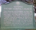 Image for Marker - Second Presbyterian Church