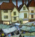 "Image for ""Hitchin Market"" by Gerard Ceunis – Market Place, Hitchin, Herts, UK"