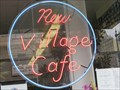 Image for New Village Cafe Sign - San Francisco, California
