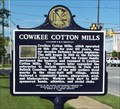 Image for Cowikee Cotton Mills - Eufaula, AL