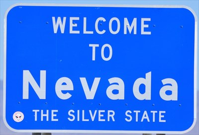 Welcome To Nevada The Silver State Welcome Signs On Waymarking Com