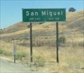 Image for San Miguel, California ~ Elevation 620