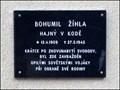 Image for Pamatnik / Memorial - Bohumil Zihla, Koda, CZ