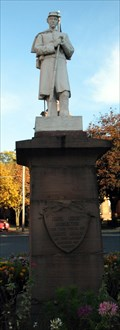 Image for North Adams Soldier Monument. North Adams, MA