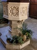 Image for Baptism Font - Church  of All Saints Pavement - York, Great Britain.