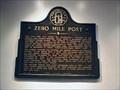 Image for Zero Mile Post  - GHM 060-124 - Fulton Co., GA