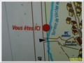 Image for Vous êtes ici - Plan du village - Baratier, France