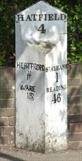 Image for Milestone - Hatfield Road, St Albans, Hertfordshire, UK.