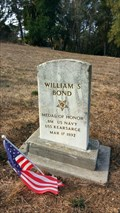 Image for William S. Bond - Sunrise Memorial Cemetery - Vallejo, CA