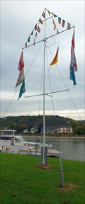 Image for Nautical Flag Pole in Kripp - RLP / Germany