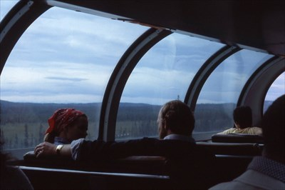 Alaska RR Dome Car View