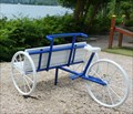Image for Banc tricycle, lac Kir, Dijon, Côte d'Or, France