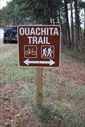 Image for Ouachita Trail Crossing -- Talimena Scenic Byway, Leflore Co. OK
