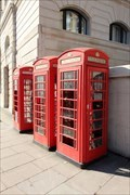 Image for Red Telephone Boxes - Langham Place, London, UK