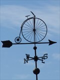 Image for Penny-Farthing Bicycle Weathervane - Windsor, Ontario