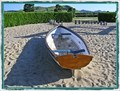 Image for Beached Playground Boat,   Papamoa. North Is. New Zealand.