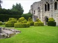 Image for Animal topiary at Wenlock Priory, Shropshire, England