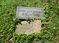 Image for Mary Ann Gibson ~ Dil's Cemetery ~ Pikeville, Kentucky
