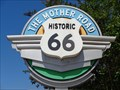 Image for Historic Route 66 - Mother Road Markers - Rancho Cucamonga, California, USA