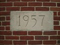 Image for 1957 - Cornerstone at the Hicksville Public Library  -  NY