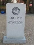 Image for Marshall Police Memorial - Marshall, Texas