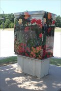 Image for Flowers Utility Box (Andrea Ward) - Flower Mound, TX
