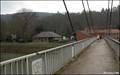 Image for Tilff pedestrian suspension bridge (Liege, Belgium)
