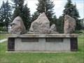 Image for Matthew 27:45 - Fairview Cemetery - Lacombe, Alberta Canada
