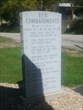 Image for Exodus 20:18  - The Ten Commandments - Pleasant Valley Church - Connellsville, Pennsylvania