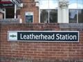 Image for Leatherhead Rail Station, Surrey. UK