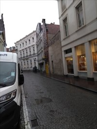 ...on our way from the Markt to Choco-story.