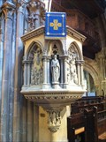 Image for Pulpit - Church of St Mary the Virgin, Shrewsbury, Shropshire