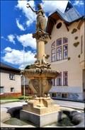 Image for Kašna se sochou Spravedlnosti / Fountain with a statue of Justice - Horní Maršov (North-East Bohemia)