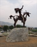 Image for Nk'Mip Man and Horse - Osoyoos, British Columbia