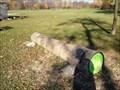 Image for Tree Log Bike Parking - Brantford, ON