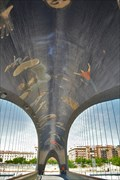 Image for Puente del Matadero, Madrid, Spain