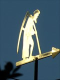 Image for Father Time - Weathervane - Caldicot, Wales. Great Britain.