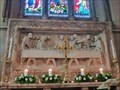 Image for Rederos - Parish Church of All Saints Odd Rode - Scholar Green, Cheshire East, UK.