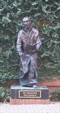 Image for St. Ignatius of Loyola -- St Peter Catholic Church, Charlotte NC