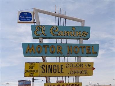 El Camino Motor Hotel.