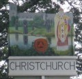 Image for Christchurch Sign - Somerford Roundabout, Christchurch, Dorset, UK