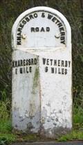 Image for Milestone - B 6164, Grimbald Crag Way, Knaresborough, Yorkshire, UK.