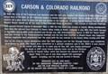 Image for Carson & Colorado Railroad — Dayton, NV