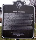 Image for Dixie Highway Historical Marker - Homewood, Illinois