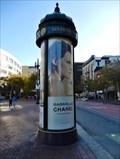 Image for Advertising column at United Nations Plaza - San Francisco, CA, USA