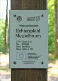 Image for 480m ü. NN - Echterspfahl — Mespelbrunn, Germany