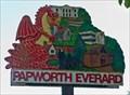 Image for Papworth Everard - Cambridgeshire Village Sign