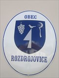 Image for Znak obce - Rozdrojovice, Czech Republic